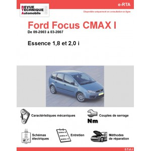 e-RTA Ford FOCUS CMAX I Essence (09-2003 à 03-2007)